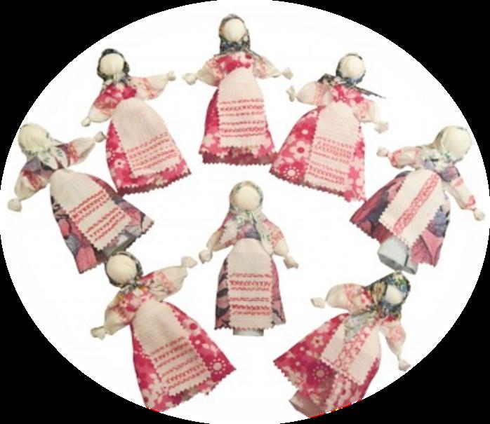 Тряпичная кукла анимация
